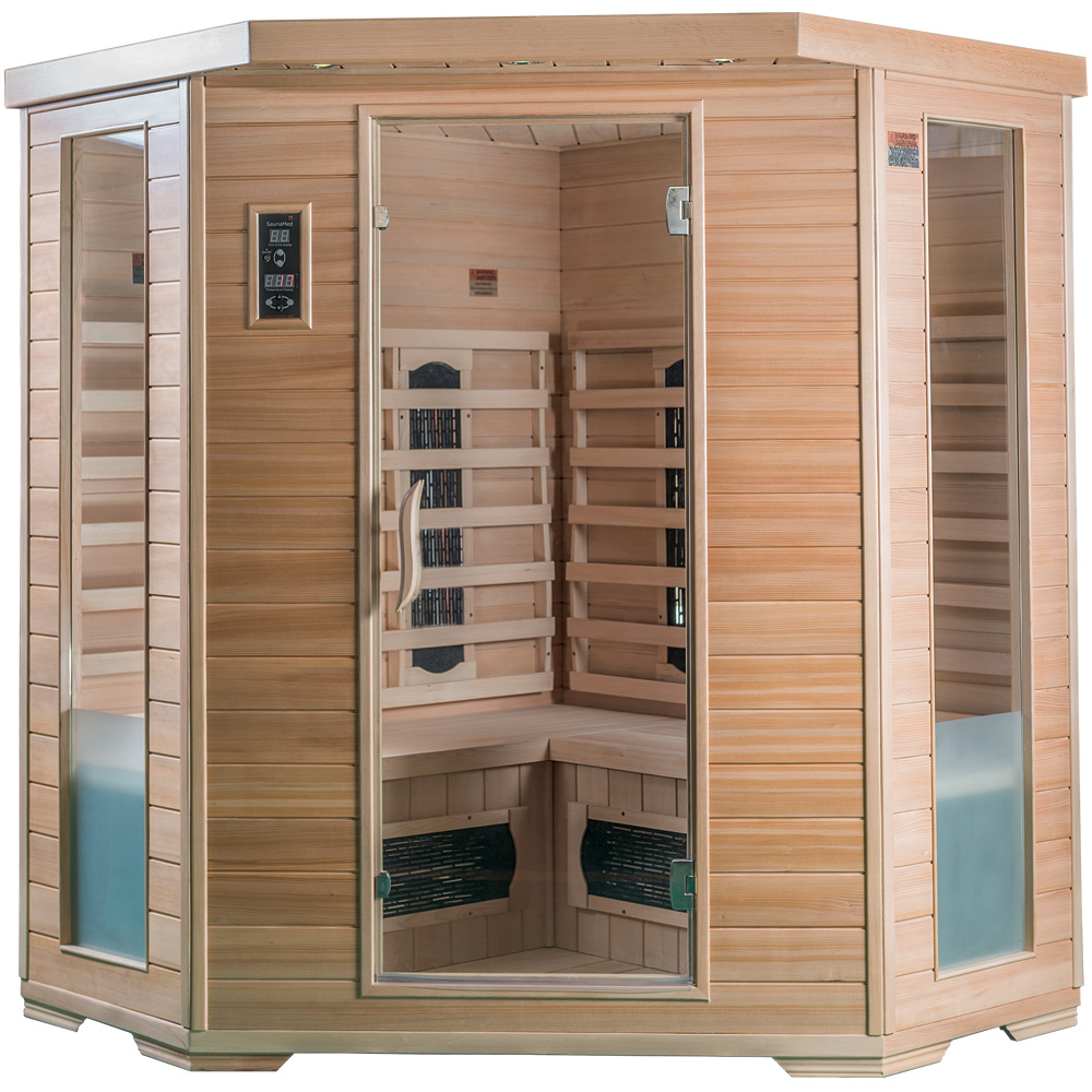 SaunaMed Classic Infrared Saunas EMR Neutral™
