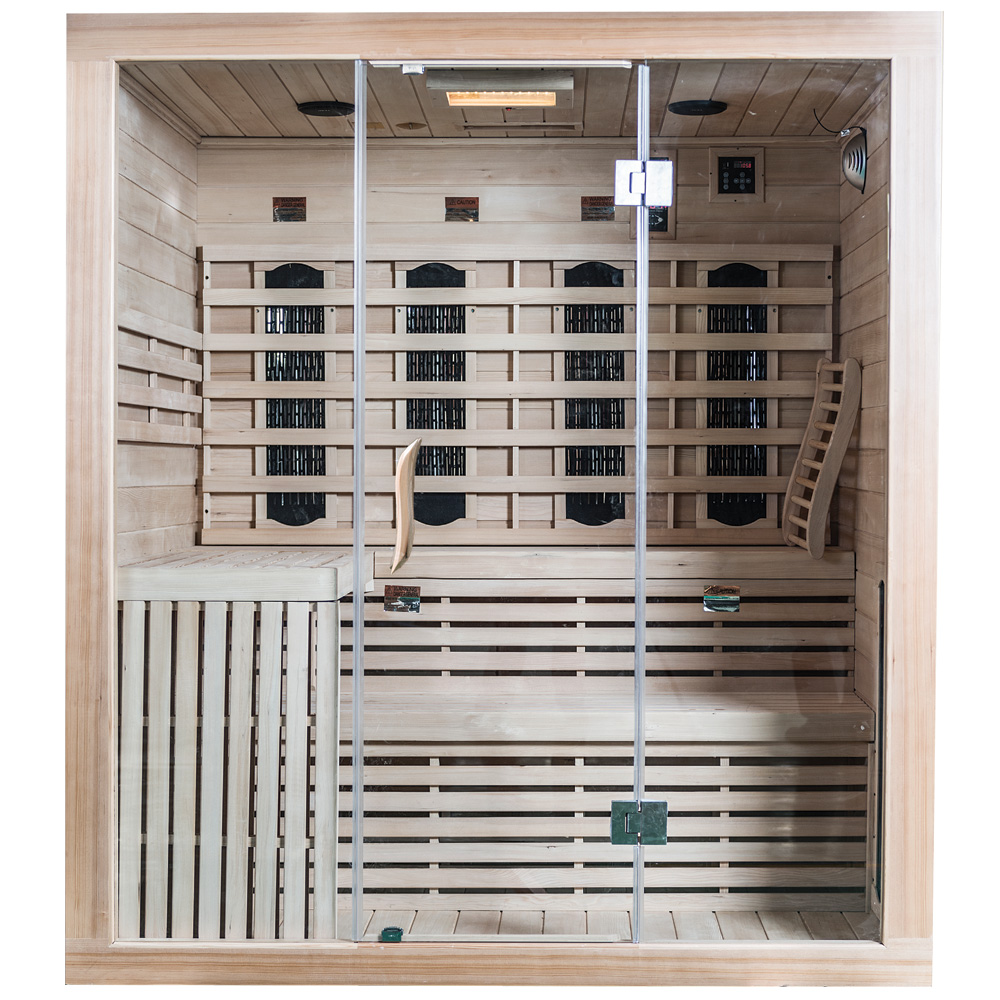 SaunaMed Lumina Infrared Saunas EMR Neutral™