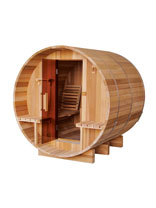 Wooden Barrel Saunas