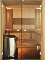 Harvia Variant Glass Front Saunas