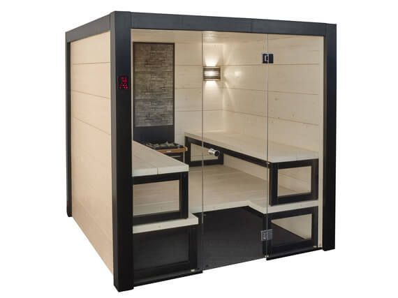 Indoor Solide Sauna 2085 x 2415
