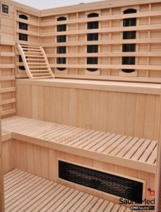Lay Down Infared Saunas Now Available
