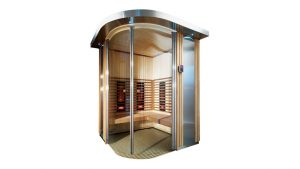 UK Debut for Harvia's Rondium Infrared Saunas